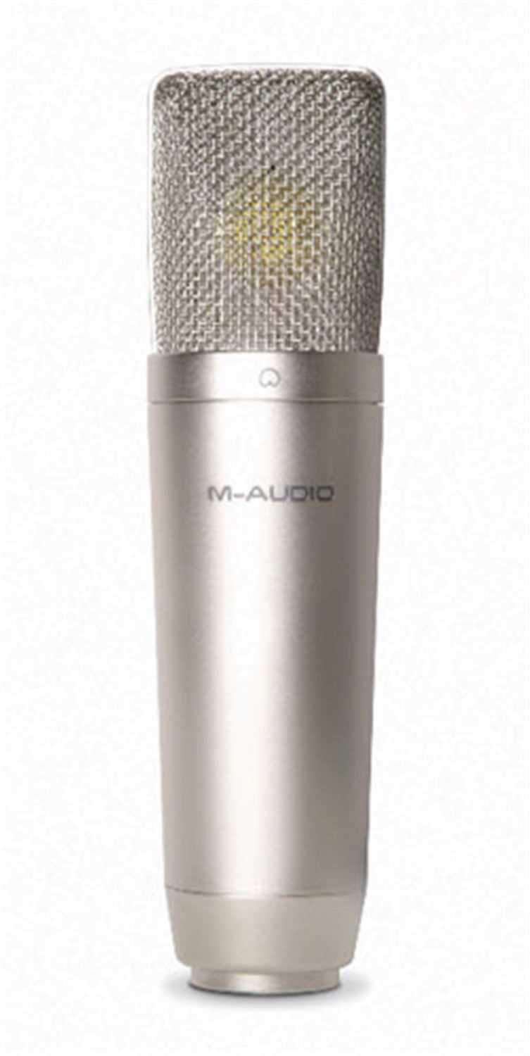 M-Audio NOVA Large Capsule Condenser Microphone - PSSL ProSound and Stage Lighting