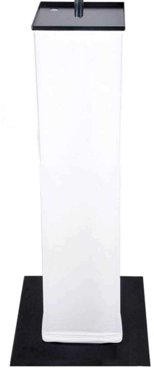 Novopro PS1SW PS1 Spare White Podium Stand Scrim - PSSL ProSound and Stage Lighting