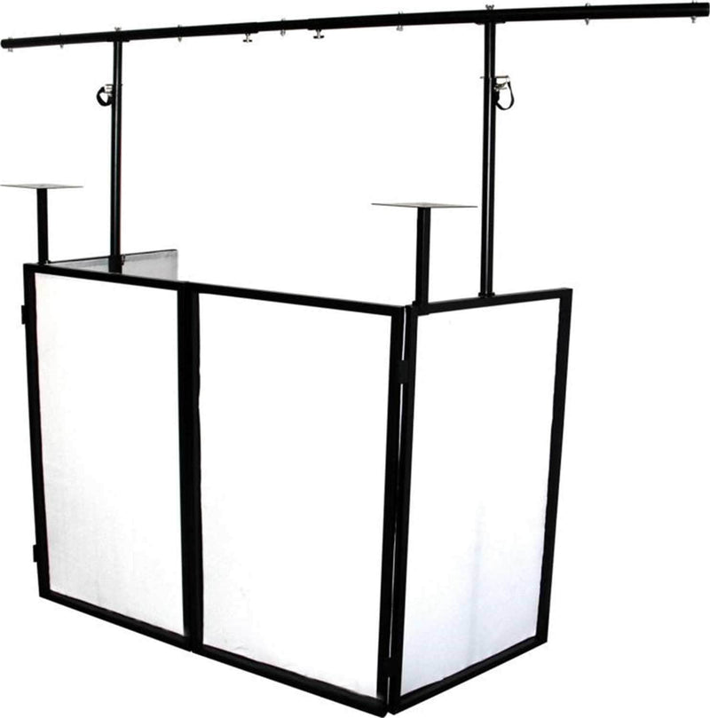 Novopro SDXBOOTH SDX V2 Foldable DJ Booth - PSSL ProSound and Stage Lighting