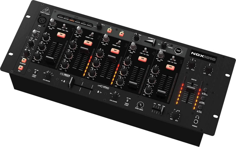 Behringer NOX1010 5-Channel 19-Inch DJ Mixer with FX - PSSL ProSound and Stage Lighting