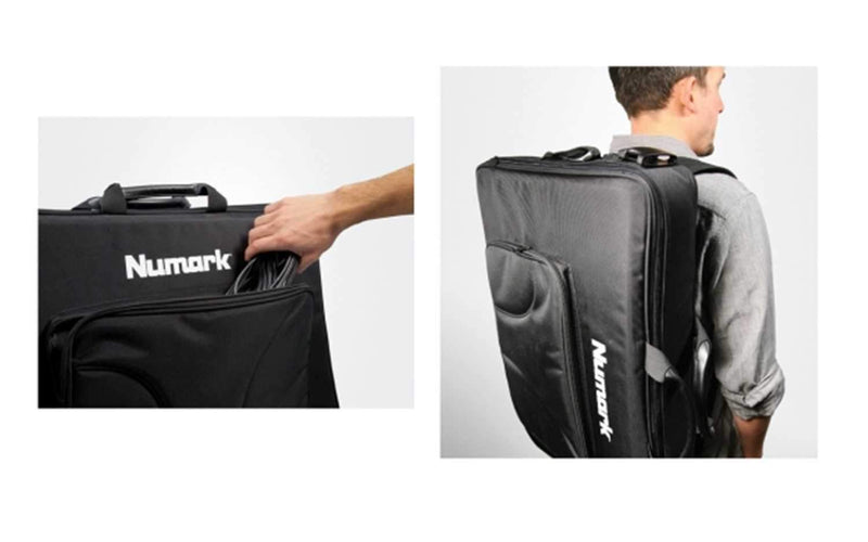 Numark NS6 and 4 Trak DJ Controller Backpack - PSSL ProSound and Stage Lighting