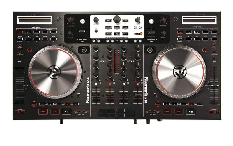Numark NS6 Serato DJ 4 Deck DJ Controller - PSSL ProSound and Stage Lighting
