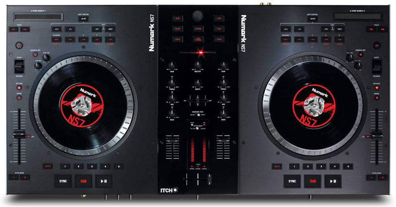 Numark NS7 Turntable Controller with Serato Itch - PSSL ProSound and Stage Lighting