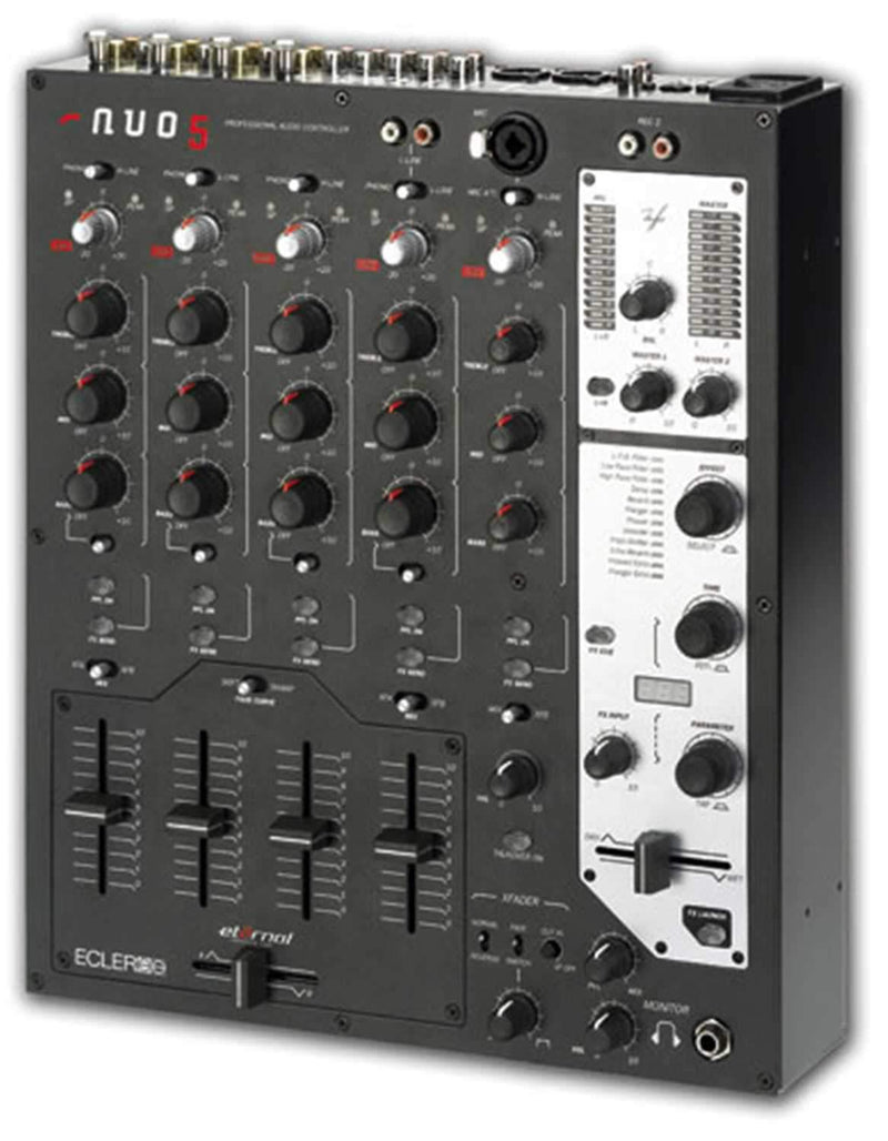 Ecler NU05 Club Mixer with Effects - PSSL ProSound and Stage Lighting