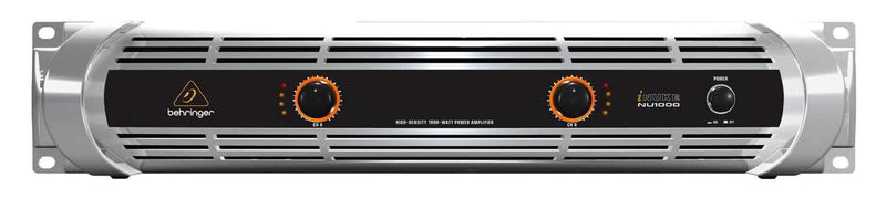 Behringer iNUKE NU1000 2-Channel Power Amplifier - PSSL ProSound and Stage Lighting