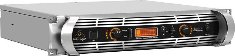 Behringer NU12000DSP PA Power Amplifier with DSP - PSSL ProSound and Stage Lighting
