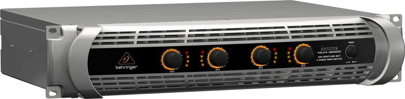 Behringer iNuke NU4-6000 4-Channel Power Amplifier - PSSL ProSound and Stage Lighting