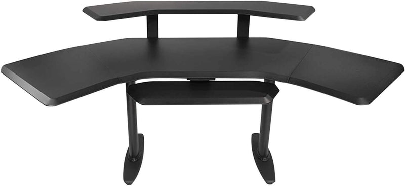 Ultimate Nucleus Series Studio Desk w 2nd Tier - PSSL ProSound and Stage Lighting