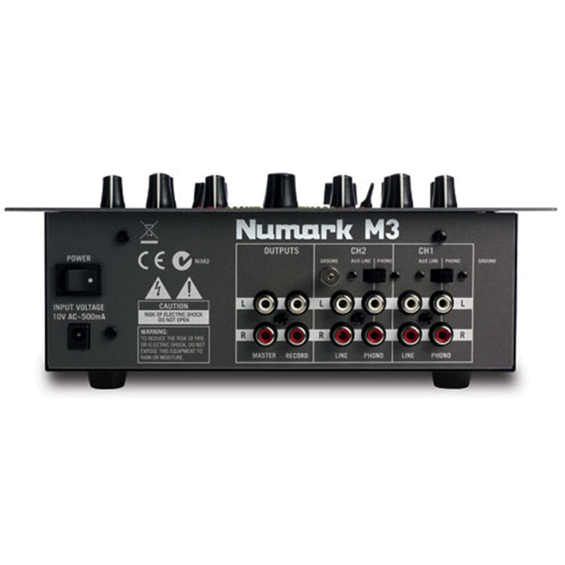 Numark M3 DJ Mixer 10-Inch 2-Channel - PSSL ProSound and Stage Lighting