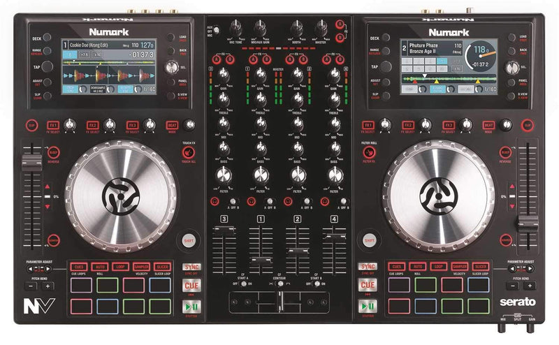 Numark NV Dual-Display DJ Controller for Serato - PSSL ProSound and Stage Lighting