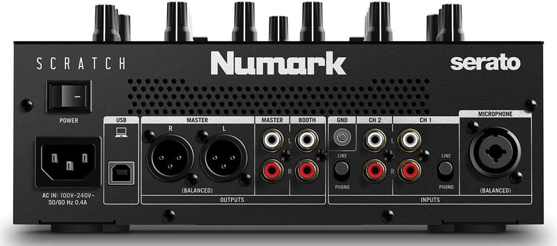 Numark Scratch 2-Channel DJ Mixer for Serato DJ Pro - PSSL ProSound and Stage Lighting
