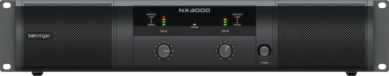 Behringer NX3000 Ultra-Lightweight 3000w Power Amplifier - PSSL ProSound and Stage Lighting