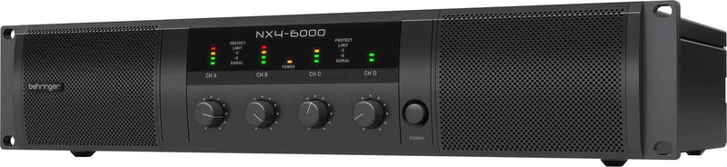 Behringer NX4-6000 6000w 4-Ch Class-D Power Amplifier - PSSL ProSound and Stage Lighting