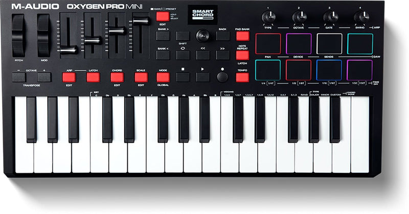 M-Audio Oxygen Pro Mini 32-Key USB MIDI Controller - ProSound and Stage Lighting