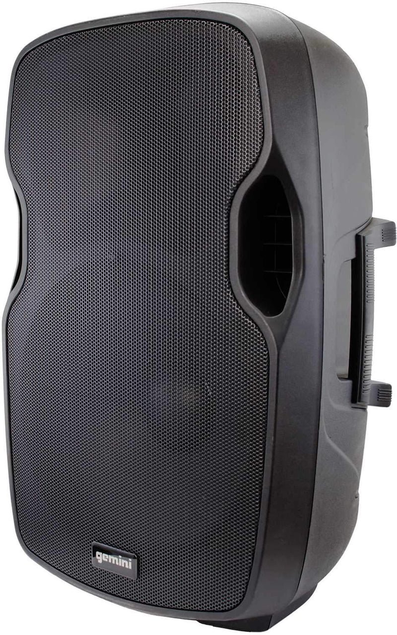 Gemini AS-12BLU 12-Inch Powered Speaker Pair with Covers - PSSL ProSound and Stage Lighting