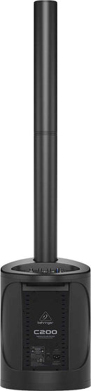 Behringer Dual C200 Powered Column Bluetooth PA System - PSSL ProSound and Stage Lighting