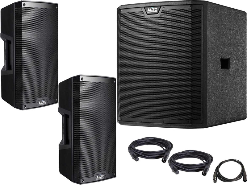 Alto TS310 10-inch Powered Speakers with TS315S Subwoofer - PSSL ProSound and Stage Lighting
