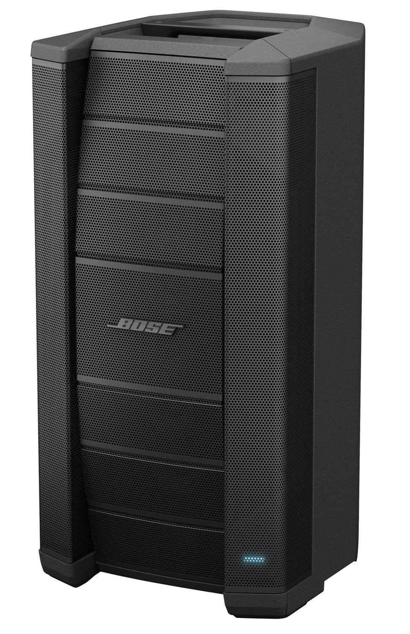 Bose F1 812 Powered Speakers Pair with Shure BLX24-PG58 Wireless Mic - PSSL ProSound and Stage Lighting