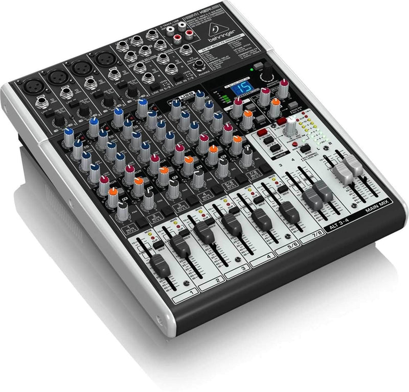 Behringer Xenyx X1204USB 8-Channel Mixer with Gator Bag - PSSL ProSound and Stage Lighting