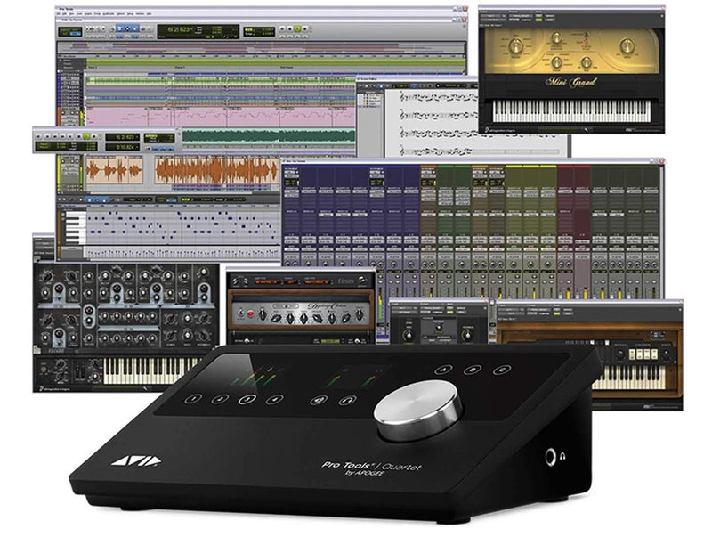 Avid Apogee Pro Tools Quartet Interface & Software - PSSL ProSound and Stage Lighting