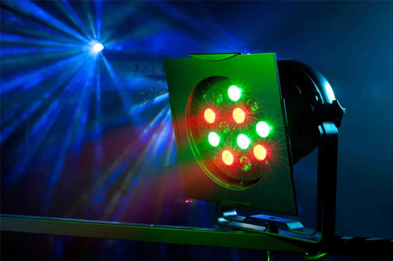 American DJ PRO 38 B LED RC 12x1W RGB DMX Par - PSSL ProSound and Stage Lighting