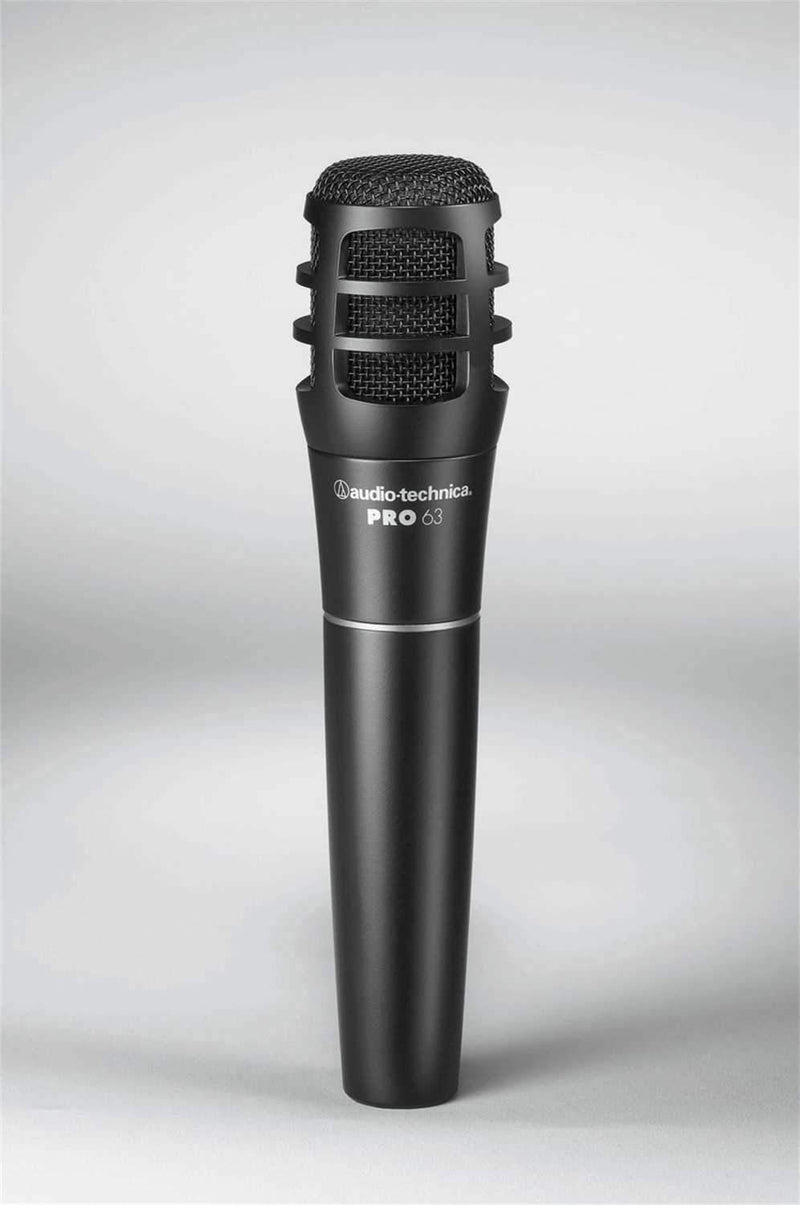 Audio Technica PRO63 Dynamic Instrument Microphone - PSSL ProSound and Stage Lighting