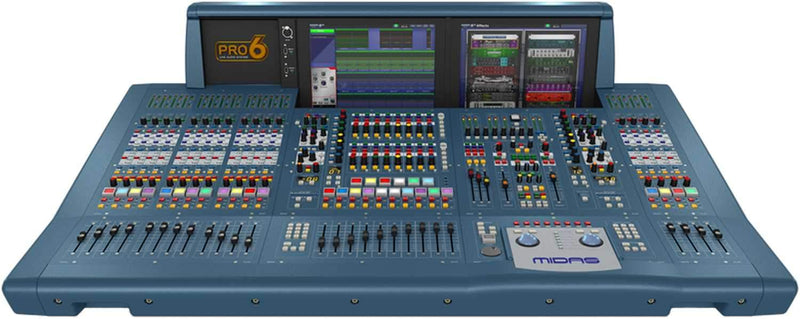 Midas PRO6CCTP Digital Audio Mixing System with Touring Case - PSSL ProSound and Stage Lighting