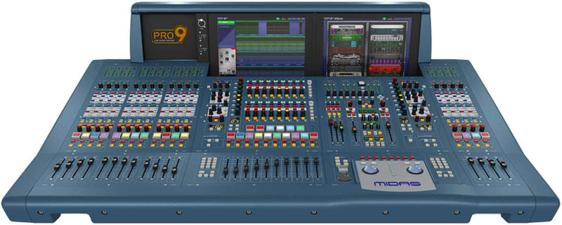 Midas PRO9-CC-TP Digital Audio Mixing System with Touring Case - PSSL ProSound and Stage Lighting