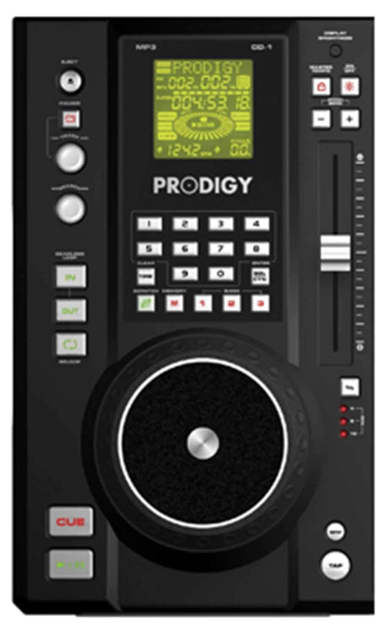 B52 Prodigy Dual CD /MP3 player with With Mixer - PSSL ProSound and Stage Lighting