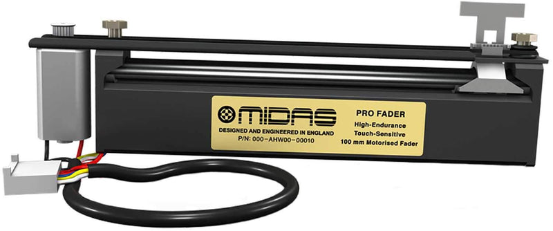 Midas Set Of 5 High-Endurance Touch-Sensitive 100mm Motorised Faders - PSSL ProSound and Stage Lighting