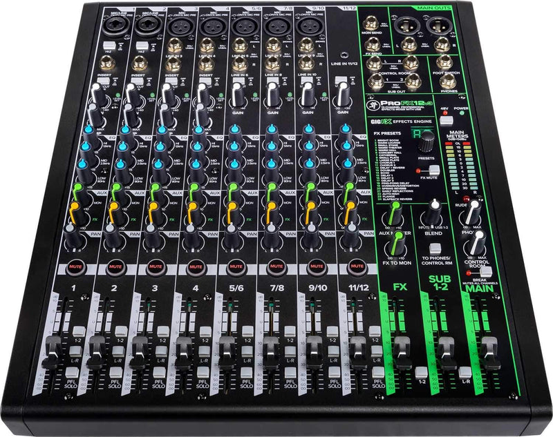 Mackie ProFX12v3 12-Channel Effects Mixer with USB - PSSL ProSound and Stage Lighting