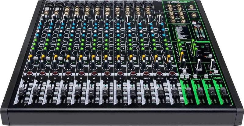 Mackie ProFX16v3 16-Channel 4-Bus Effects Mixer with USB - PSSL ProSound and Stage Lighting