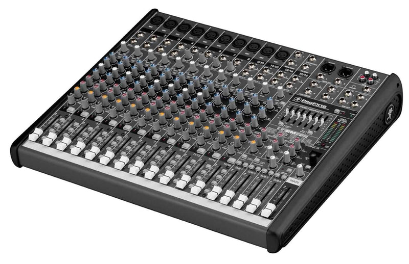 Mackie ProFX16 Pro 16 Ch Analog PA Mixer w Effects - PSSL ProSound and Stage Lighting
