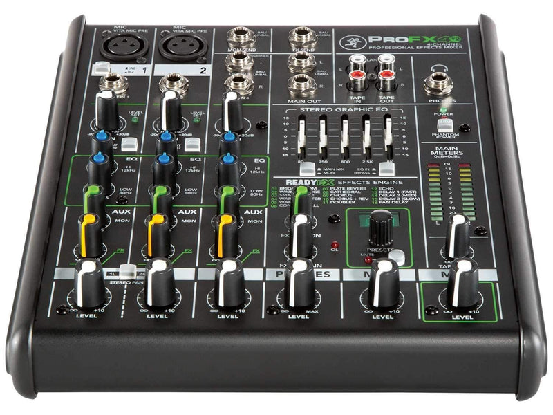 Mackie ProFX4v2 4-Channel Analog Mixer with FX - PSSL ProSound and Stage Lighting