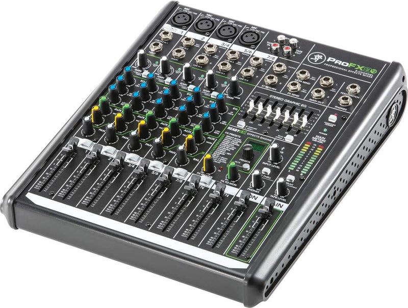 Mackie ProFX8v2 8-Channel PA Mixer with USB & FX - PSSL ProSound and Stage Lighting