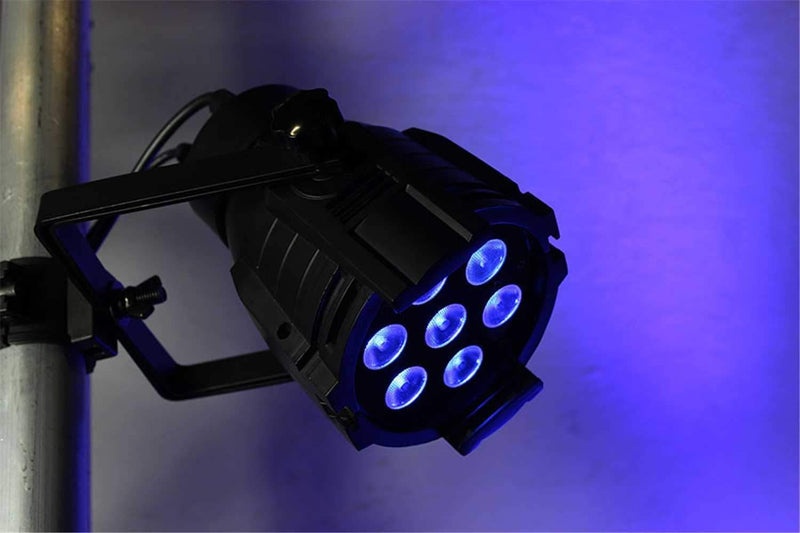 Blizzard ProPar Seven-6 DMX RGBAW Plus UV LED Light - PSSL ProSound and Stage Lighting