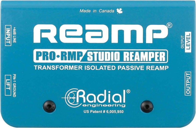 Radial ProRMP Passive Reamper with Custom Transformer - PSSL ProSound and Stage Lighting