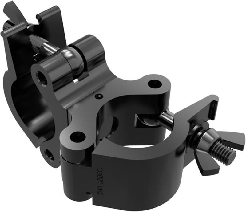 Global Truss Pro Swivel Clamp BLK Wrap Around 2In