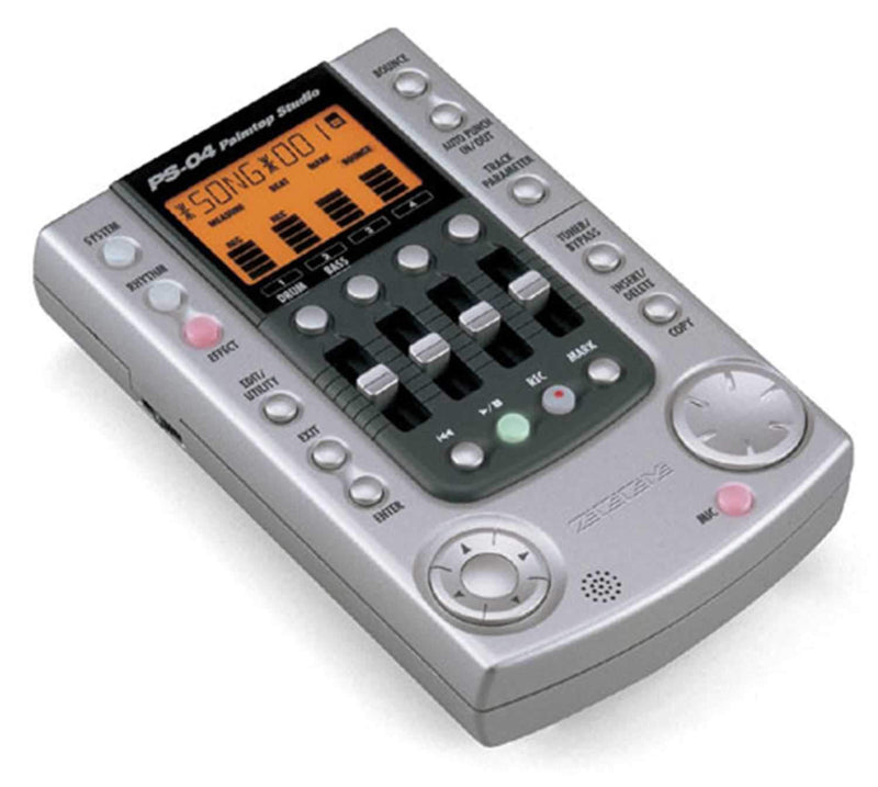 Zoom PS04 4-Track Digital Palm Recorder - PSSL ProSound and Stage Lighting