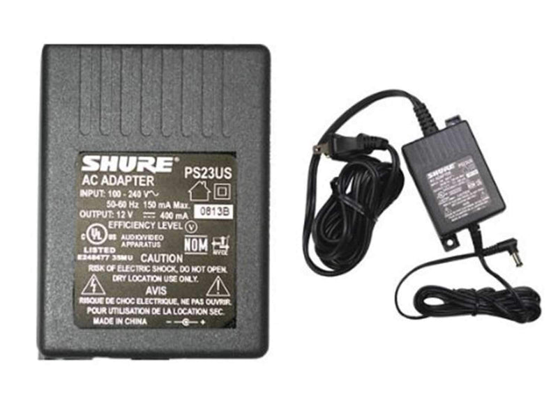 Shure PS-23 120 V Power Supply Adapter - PSSL ProSound and Stage Lighting