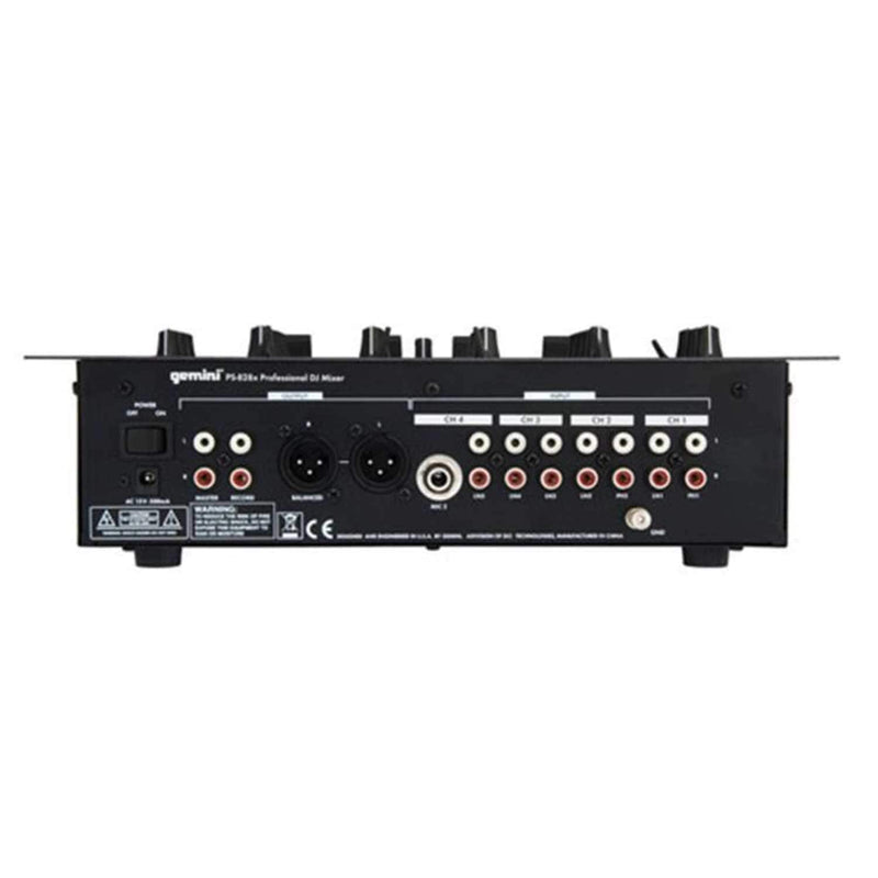 Gemini PS-828X Professional DJ Mixer - PSSL ProSound and Stage Lighting