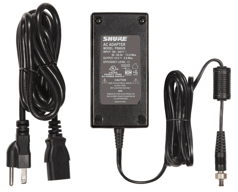 Shure PS60US Replacement In-Line US Power Supply - PSSL ProSound and Stage Lighting