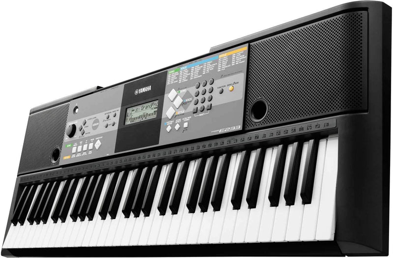 Yamaha PSR-E233 - 61 Key Portable Keyboard - PSSL ProSound and Stage Lighting