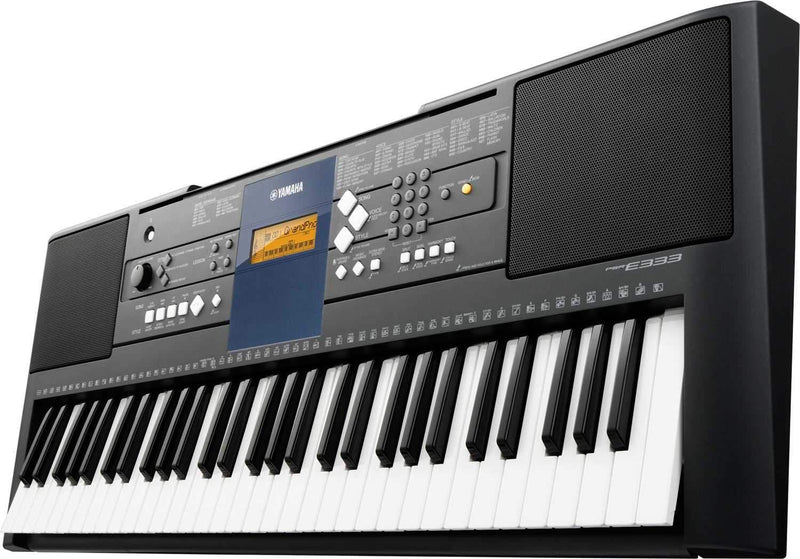 Yamaha PSR-E333 - 61 Key Portable Keyboard - PSSL ProSound and Stage Lighting