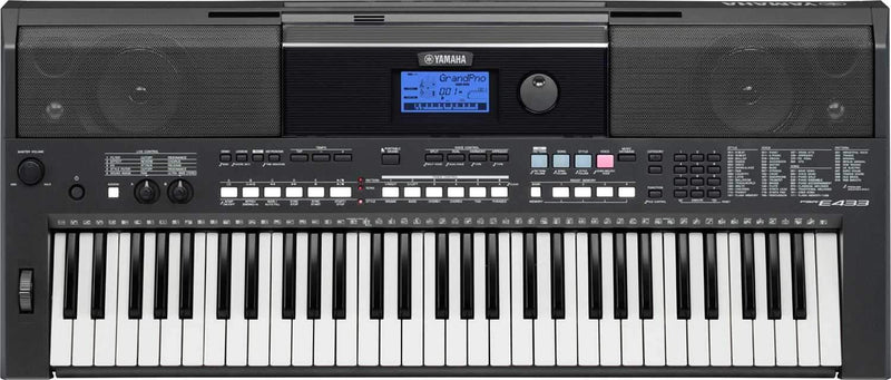 Yamaha PSR-E433 Entry-Level Portable Keyboard - PSSL ProSound and Stage Lighting