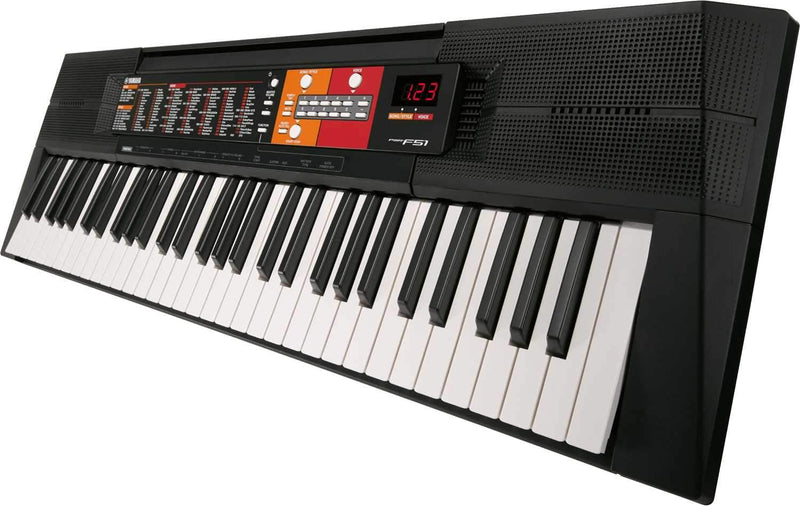 Yamaha PSR-F51 61-Key Entry-Level Portable Keyboard - PSSL ProSound and Stage Lighting