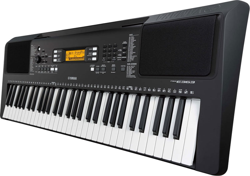 Yamaha PSRE363 61-Key Entry-Level Portable Keyboard - PSSL ProSound and Stage Lighting