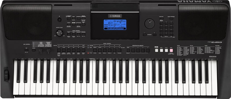Yamaha PSRE453 61-Key High-Level Portable Keyboard - PSSL ProSound and Stage Lighting