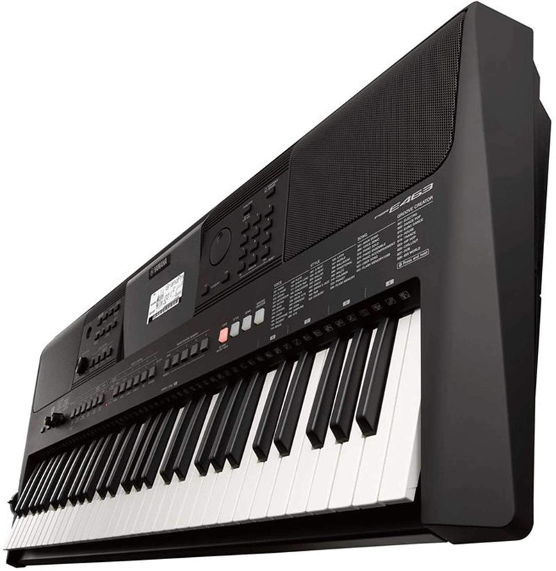 Yamaha PSRE463 61-Key High-Level Portable Keyboard - PSSL ProSound and Stage Lighting