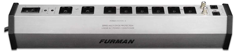 Furman PST8 Professional 8 Outlet Power Strip - PSSL ProSound and Stage Lighting